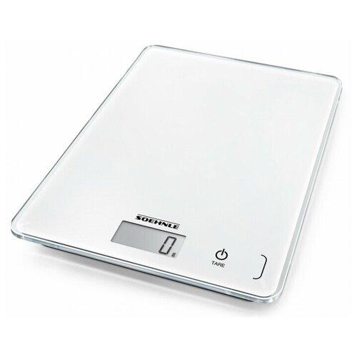 Фото - Кухонные весы Soehnle Page Compact 300 белый кухонные весы soehnle roma plus бел с чашей