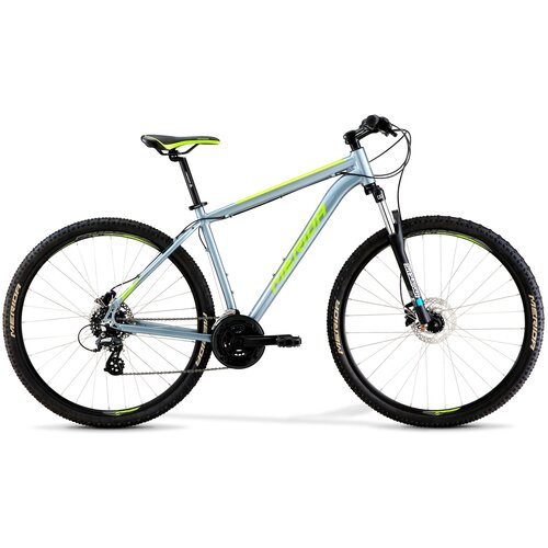 Горный (MTB) велосипед Merida Big.Nine 10-D (2021) dark silver/green 19 (требует финальной сборки) горный mtb велосипед kellys desire 90 2019 grey green m требует финальной сборки
