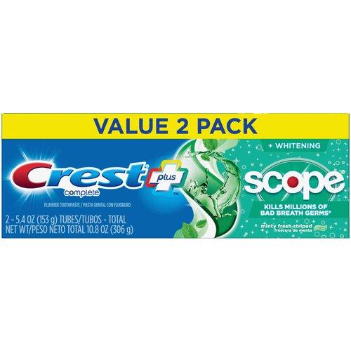 Crest Complete + Scope Minty Fresh – Набор из 2 зубных паст
