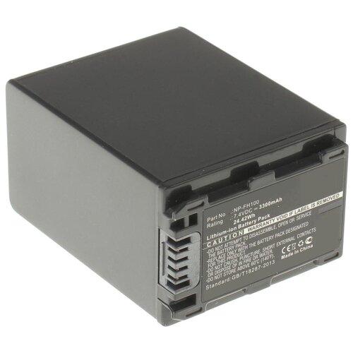 Фото - Аккумулятор iBatt iB-B1-F324 3300mAh для Sony NP-FH50, NP-FH40, NP-FH60, NP-FH70, NP-FH100, NP-FH30, NP-FH120, NP-FH90, iB-F324, аккумулятор для фотоаппарата sony np fe1