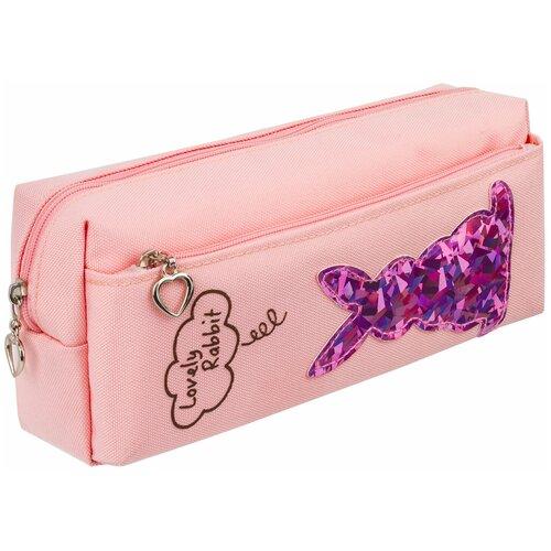 Юнландия Пенал-косметичка Зайка (228987/88/89) розовый недорого
