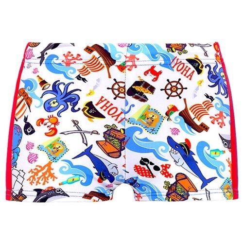Купить Плавки для мальчиков, ALIERA, П 21.21, размер 104-110, Белье и пляжная мода