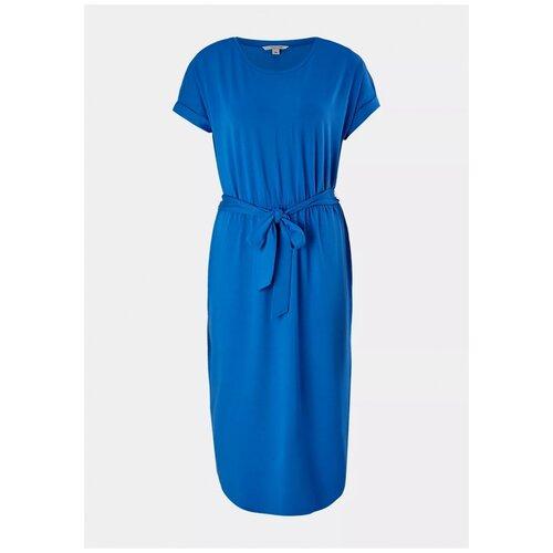 Платье Comma. размер 42 (XL), синий