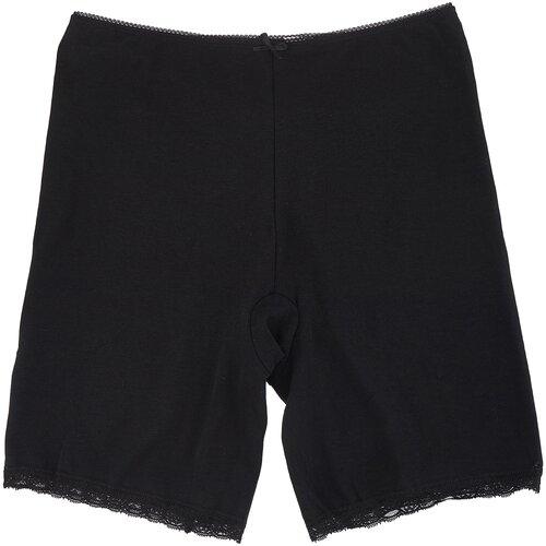 MiNiMi Трусы панталоны с завышенной талией, размер 46/M, черный (nero)