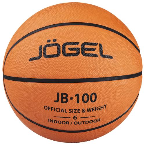 Баскетбольный мяч Jogel JB-100 №6, р. 6 коричневый