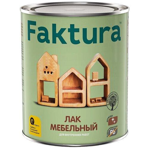 Лак Faktura Мебельный алкидный прозрачный 0.7 л