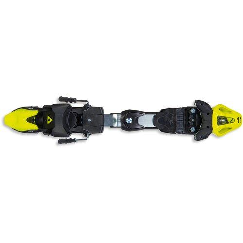 горнолыжные крепления на ботинки lenz accupack adapter 2 0 ns Горнолыжные крепления Fischer RC4 Z11 FF 2020-2021 flash yellow/black, скистопы 85 мм
