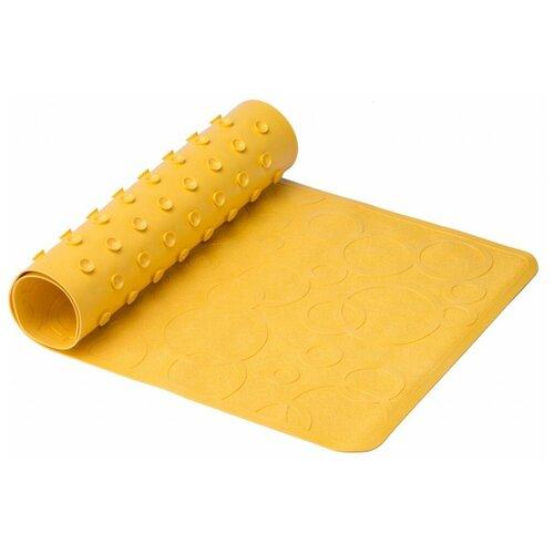 Коврик для ванны Roxy kids BM-M188-1 желтый roxy kids коврик roxy kids для ванны антискользящий резиновый 35 76 см желтый