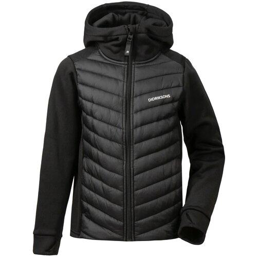 Купить Подростковая куртка Didriksons Halden чёрная 140, Куртки
