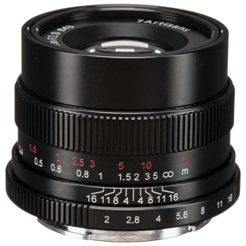 Фото - Объектив 7artisans 35mm f/2.0 Sony E объектив 7artisans e mount 35 mm f 2 0 17979