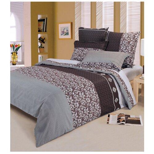 Фото - Постельное белье семейное СайлиД A-86, поплин, 70 х 70 см серый постельное белье stefan landsberg flicker семейное