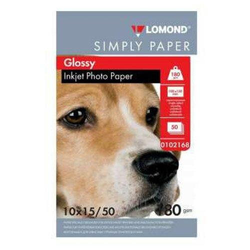 Бумага Lomond Simply Papers 100ммx150мм 0102168 180 г/м2 50лист. белый