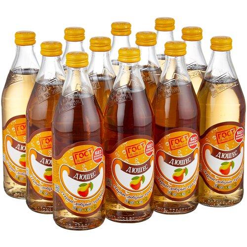 Газированный напиток Старые добрые традиции Дюшес, 0.5 л, 12 шт.