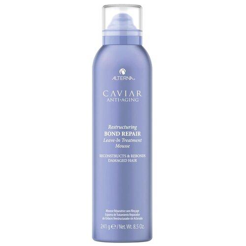 Alterna Caviar Anti-Aging Restructuring Интенсивный мусс-регенерация для протеинового восстановления структуры волос, 241 г alterna caviar anti aging restructuring bond repair masque