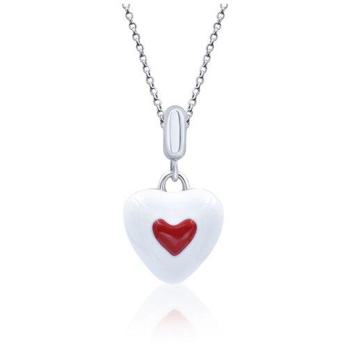 UMa & UMi Детский серебряный кулон подвеска Сердце в сердечке UMI Symbols 319556900621