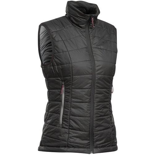 Пуховый жилет для треккинга в горах женский TREK 100, размер: XXL, цвет: Черный FORCLAZ Х Декатлон