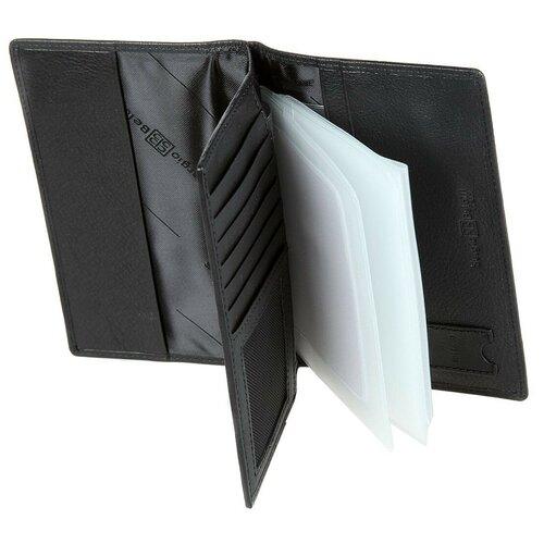 1424 west black Обложка для документов Sergio Belotti