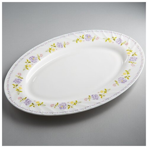 Фото - 0001L2/60-SK Блюдо овальное 30,5см Виолетта  салатник teropal 0001d9 50 sk asti 21 5 см