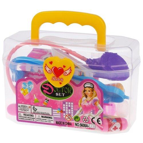 Купить Набор доктора Наша игрушка (5608A-12), Играем в доктора