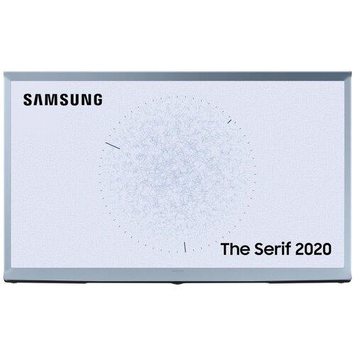Фото - Телевизор QLED Samsung The Serif QE55LS01TBU 55 (2020), бледно-голубой the frame телевизор samsung qe43ls03tauxru