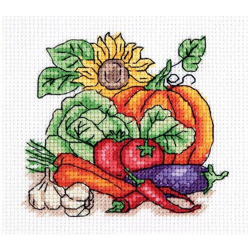 Купить Набор для вышивания KLART Осенний урожай 12.5x12 см, Наборы для вышивания