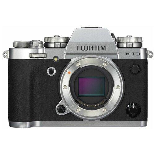 Фото - Фотоаппарат Fujifilm X-T3 Body серебристый цифровой фотоаппарат fujifilm x pro3 body dr silver