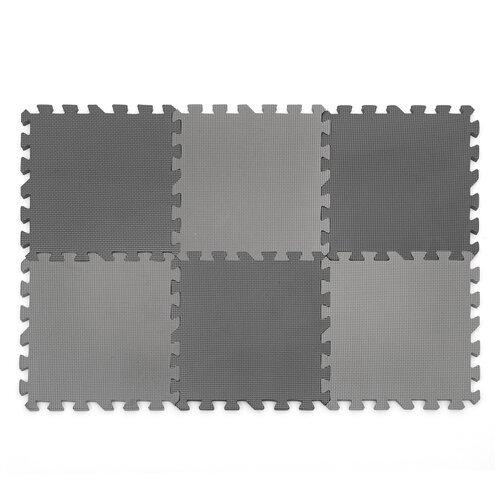 Купить Коврик-пазл Funkids Симпл-12, толщ. 15 мм (KB-049-6-NT), Игровые коврики