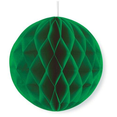 Веселый хоровод Бумажный шар зелeный
