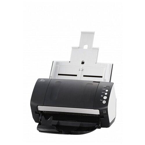 Сканер Fujitsu fi-7140 черный/белый