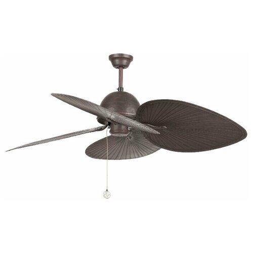 Потолочный вентилятор Faro Barcelona Cuba (без светильника) (33352FAR), brown