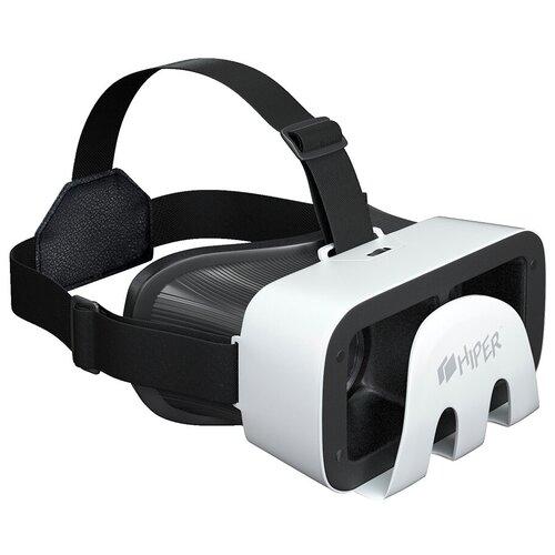Очки виртуальной реальности для смартфона HIPER VRR, черный/белый