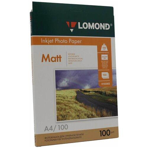 Фото - Бумага Lomond A4 Photo Paper 0102002 100 г/м² 100 лист., белый бумага lomond a4 photo paper 0102003 120 г м² 100 лист белый