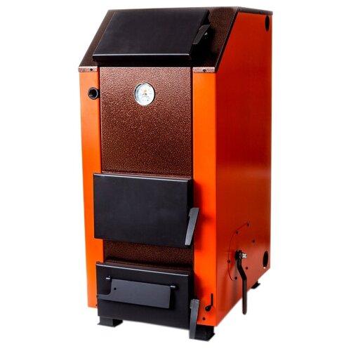 Твердотопливный котел длительного горения НМК Магнум КДГ 15 ТЭ, 15 кВт, одноконтурный