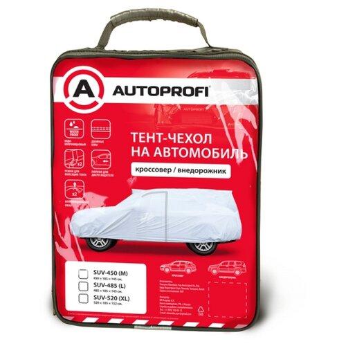 Тент-чехол для автомобиля, кроссовер/джип (485х185х145 см.) AUTOPROFI SUV-485 (L)