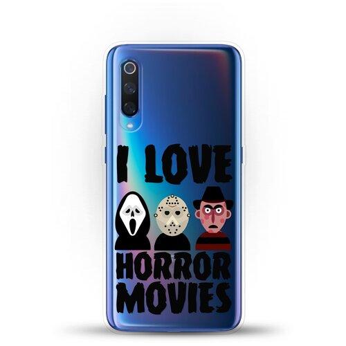 Силиконовый чехол Фильмы Ужасов на Xiaomi Mi 9
