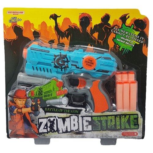 Купить Zombie Strike К79482, Гратвест, Игрушечное оружие и бластеры