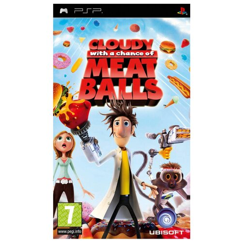 Игра для PlayStation Portable Cloudy With a Chance of Meatballs, английский язык игра для playstation portable bakugan defenders of the core английский язык