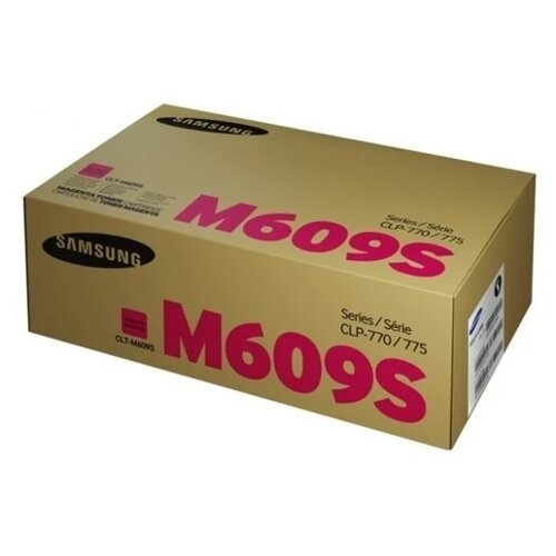 Фото - Картридж лазерный SAMSUNG CLT-M609S пурпурный (700 картридж лазерный samsung clt y506s желтый 1500ст