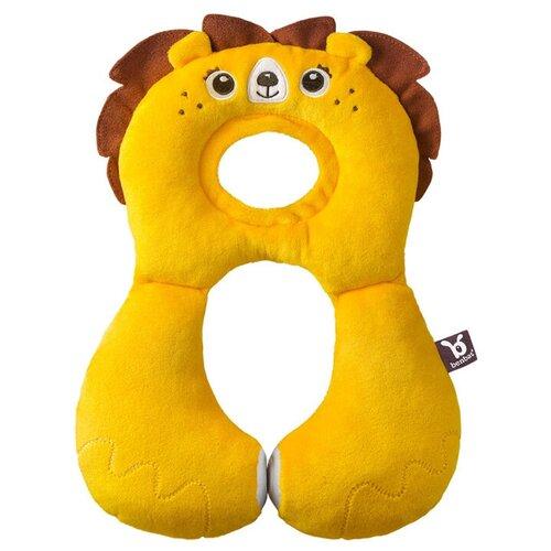 Купить Дорожная подушка Benbat Travel Friends для детей от 1 до 4 лет лев, Аксессуары для колясок и автокресел