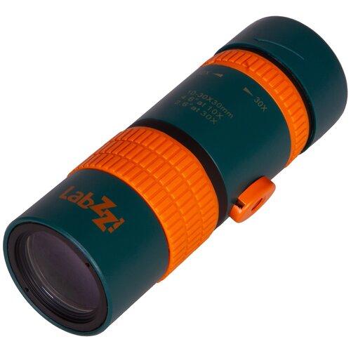 Фото - Монокуляр LEVENHUK LabZZ MC6 синий/оранжевый лупа levenhuk labzz c3 синий оранжевый