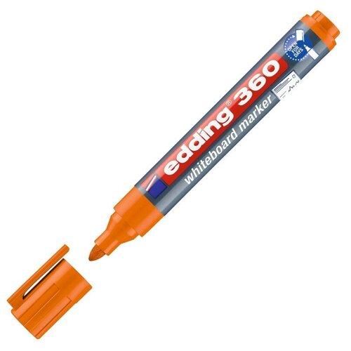 Купить Маркер для досок EDDING 360/6 оранжевый 1, 5-3 мм 2 штуки, Маркеры