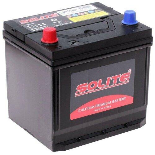 Автомобильный аккумулятор Solite CMF50AR автомобильный аккумулятор solite silver 70b24l