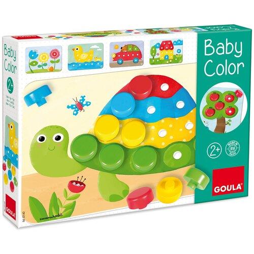 Goula Мозаика Baby Color, 20 фишек (53140)