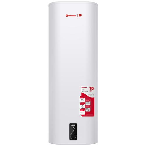 Накопительный электрический водонагреватель Thermex Victory 100 V, белый электрический накопительный водонагреватель thermex victory 80 v