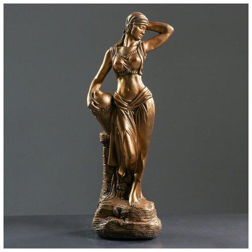 Фигура Гречанка бронза 17х22х56см 791400 фигура с кашпо гречанка большая бронза 88см 4253601