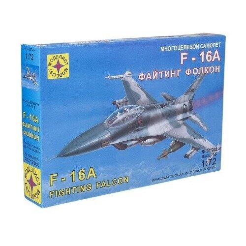 Купить Модель для сборки Моделист Авиация Многоцелевой самолет F-16A Файтинг Фолкон (1:72), Сборные модели