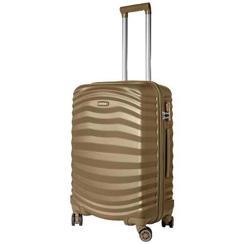 Турецкий чемодан Delvento модель Lessie Brown 78 см, 98л