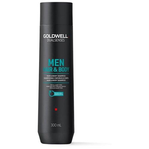 Купить Goldwell Dualsenses For Men Hair&Body Shampoo - Шампунь для мужчин для волос и тела 300мл