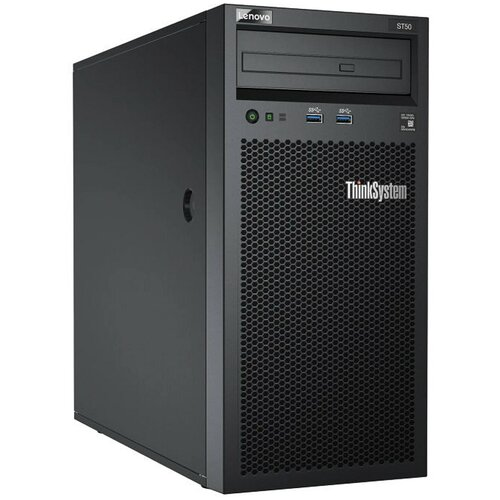 Сервер Lenovo ThinkSystem ST50 7Y49A03XEA 1 x Intel Xeon E-2224 3.5 ГГц/8 ГБ DDR4/2 ТБ/1 x 250 Вт/LAN 1 Гбит/c