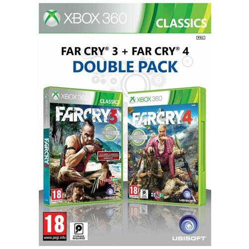 Игра для Xbox 360 Far Cry 3 + Far Cry 4, полностью на русском языке